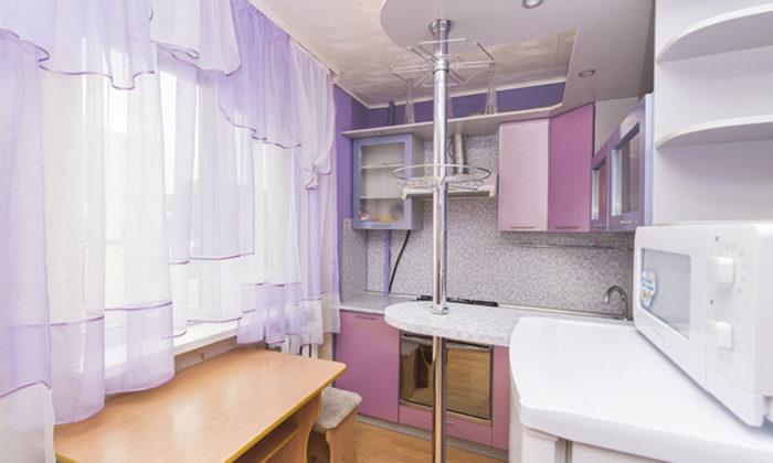 Недорогая светлая 1-к. квартира посуточно в Екатеринбурге