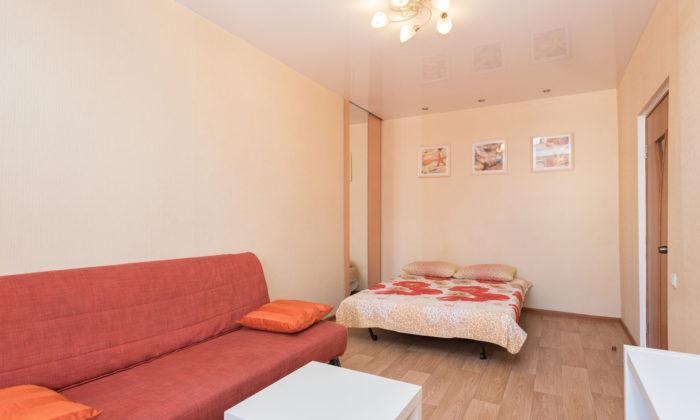 Уютная квартира с евроремонтом посуточно в Екатеринбурге